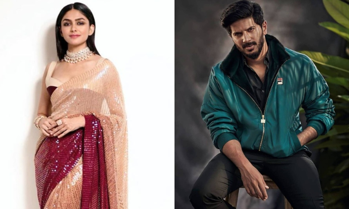 Mrunal Thakur To Star Opposite Dulquer Salmaan-TeluguStop.com