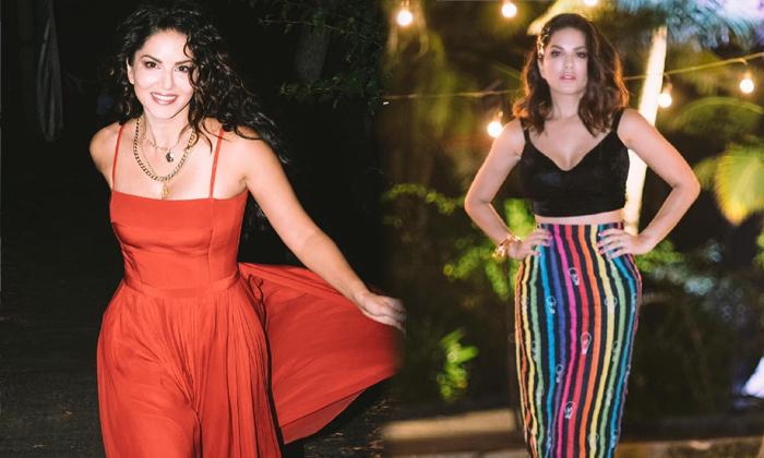 Mumbai Hot Beauty Sunny Leone Spicy Images-telugu Actress Hot Photos Mumbai Hot Beauty Sunny Leone Spicy Images - Telugu High Resolution Photo