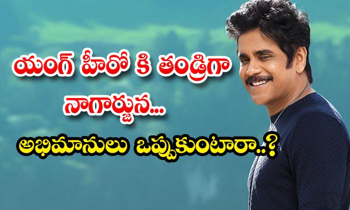 Nagarjuna Is Playing Father Role In Naga Shourya Movie-TeluguStop.com