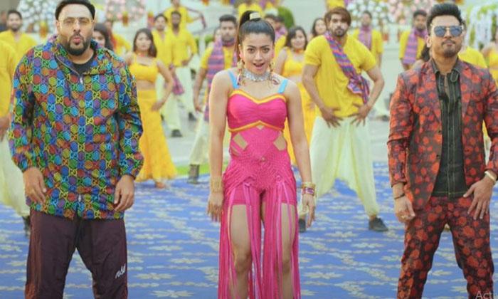 Rashmika-Badshah's Music Video Top Tucker' Out Now-Latest News English-Telugu Tollywood Photo Image-TeluguStop.com