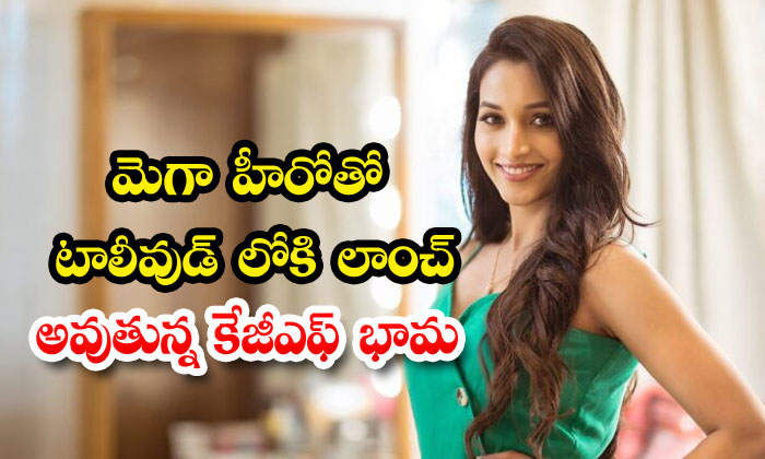 TeluguStop.com - Kgf Beauty Srinidhi Shetty Romance With Ram Charan