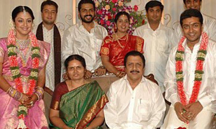 Telugu Hero Surya And Jyothika Interesting Love Story, Jyothika, Jyothika Marriage With Surya, Love Story, Surya, Surya Family, Surya Marriage Photos-Telugu Stop Exclusive Top Stories