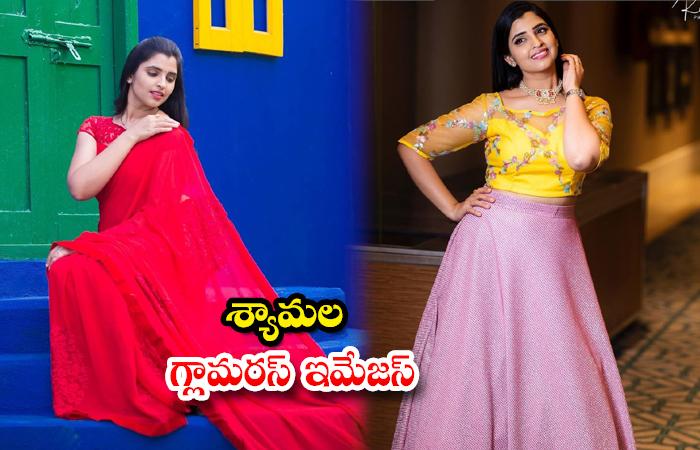 Telugu Anchor Syamala Latest HD images-శ్యామల గ్లామరస్ ఇమేజస్