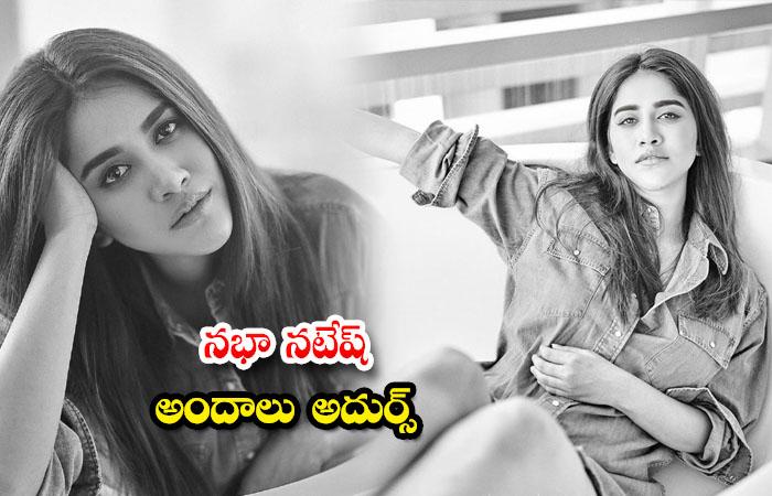Telugu Heroine Actress Nabha Natesh Glamorous poses-నభా నటేష్ అందాలు అదుర్స్