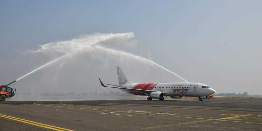 Image result for gannavaram-airport-flight-accident-photos