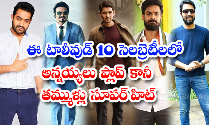 Tollywood Brothers Who Are Hit And Who Are Flop 10-TeluguStop.com