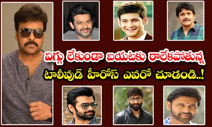 Tollywood Heroes Who Wear Always Wig-TeluguStop.com