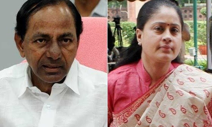 Ys Sharmila Sensational Comments On Kcr Vijayashanti-కేసీఆర్, విజయశాంతి పై వైఎస్ షర్మిల సంచలన వ్యాఖ్యలు..-Latest News - Telugu-Telugu Tollywood Photo Image-TeluguStop.com
