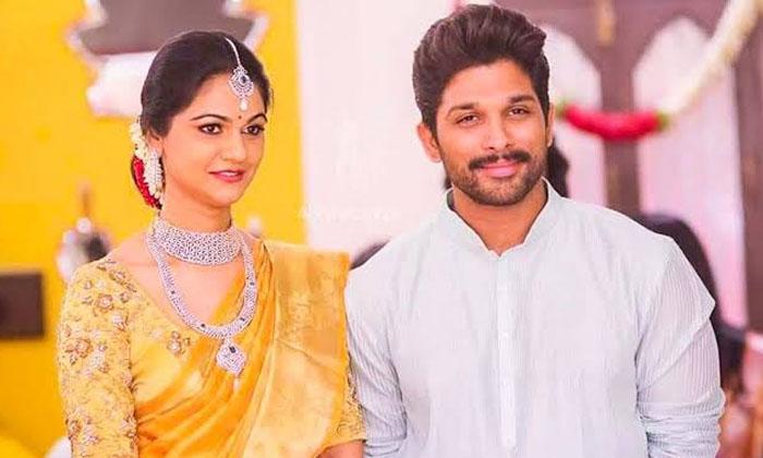 Allu Arjun And Sneha Reddy Love Story-TeluguStop.com