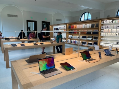 Apple Likely To Launch Second Store In S Korea This Month-TeluguStop.com