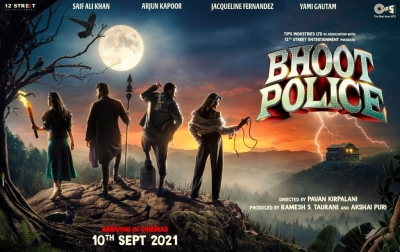 TeluguStop.com - 'bhoot Police' To Hit Theatres On September 10