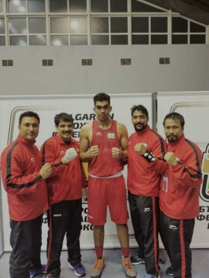 Boora Confirms India's 1st Medal At Strandja Memorial Boxing Tourney-Latest News English-Telugu Tollywood Photo Image-TeluguStop.com