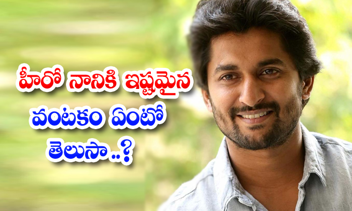 Interesting Facts About Young Hero Natural Star Nani-TeluguStop.com