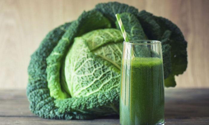 Health Benefits Of Cabbage Juice-TeluguStop.com