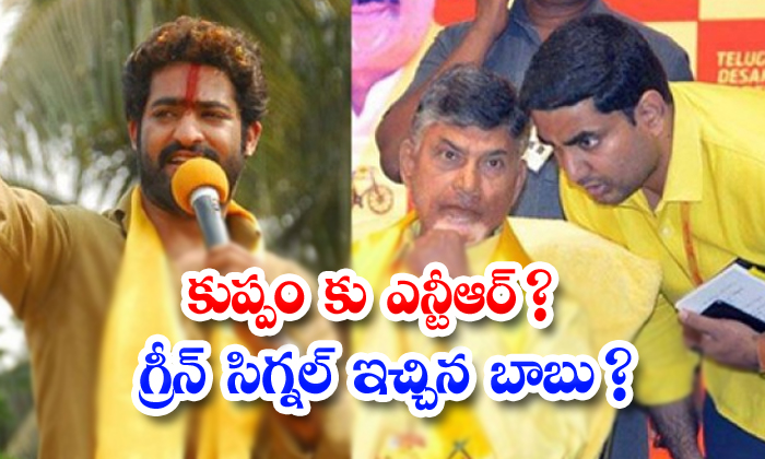 Kuppam Tdp Leaders Demand On Jr Ntr Kuppam Constency Camphain-TeluguStop.com