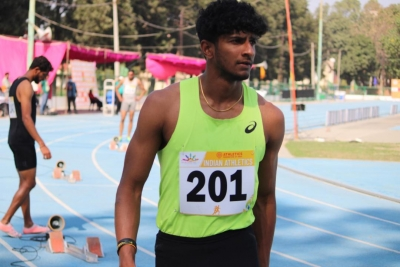 Dutee, Hima Das Win Sprints; Jacob 400m In Personal Best Time (ld)-TeluguStop.com