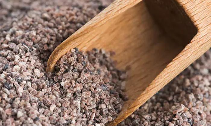 Black Salt Helps To Reduce Gas Trouble Pain-TeluguStop.com