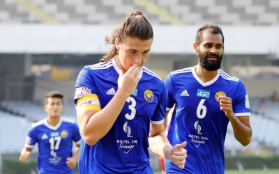 TeluguStop.com - I-league: Robertson's Brace Helps Real Kashmir To 3-1 Win Over Aizawl