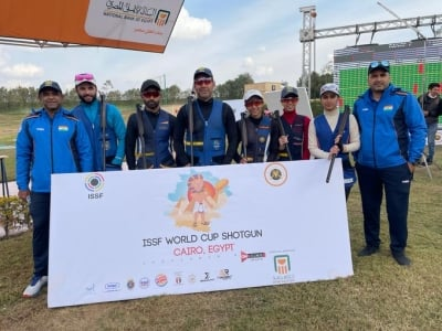 Indian Skeet Women In Line For World Cup Podium Finish-TeluguStop.com