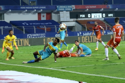 ISL: Goa Hold Hyd To 0-0 Draw, Through To Playoffs-Latest News English-Telugu Tollywood Photo Image-TeluguStop.com