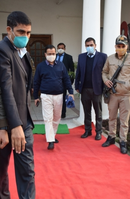 Kejriwal's Security Cover Not Reduced, Say Delhi Police (ld)-TeluguStop.com
