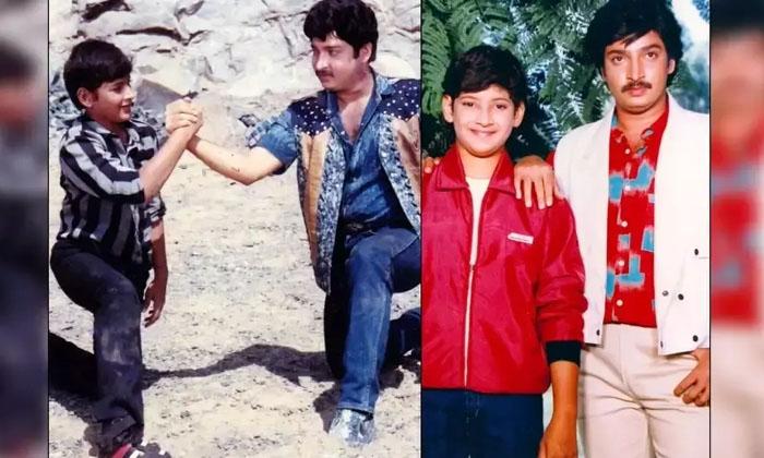 Mahesh Babu Brother Ramhesh Babu Son Also Acted In Movies-TeluguStop.com