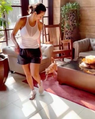 TeluguStop.com - Malaika Arora Shares Her 'daily Shenanigans'