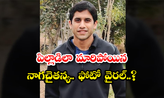 TeluguStop.com - Naga Chaitanya Young Look Photo Goes Viral In Social Media