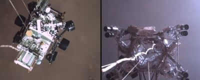 Nasa Releases Audio From Mars, Video Of Perseverance Landing-TeluguStop.com
