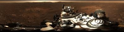 Nasa Releases Panoramic View Of Mars Rover Landing Site-TeluguStop.com