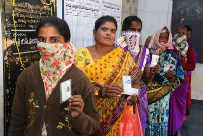 Over 10.36 Lakh Voters In Polls For Two Mlc Seats In Telangana-TeluguStop.com