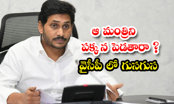Will That Minister Be Put Aside Whis In Ycp-TeluguStop.com