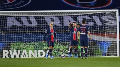 Psg Lose To Monaco, Lille Extend Lead In Ligue 1-TeluguStop.com
