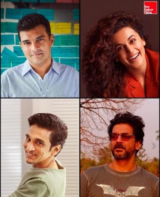 Taapsee Pannu And Pratik Gandhi To Feature In 'woh Ladki Hai Kahaan'-TeluguStop.com