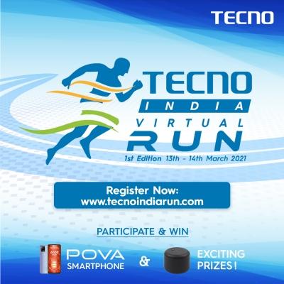 Tecno Announces Brand-connect Initiative 'tecno India Virtual Run'-TeluguStop.com