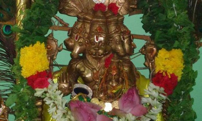 Everything About The Unique Panchamukha-పంచముఖ నరసింహస్వామి దేవాలయం గురించి ఎప్పుడైనా విన్నారా..-Latest News - Telugu-Telugu Tollywood Photo Image-TeluguStop.com