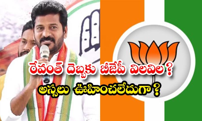 TeluguStop.com - Telangana Bjp Troubled On Revanth Politics