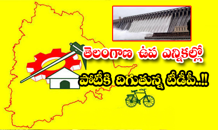 Telugu Desam Party To Contest In Telangana By Elections-TeluguStop.com
