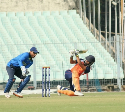 TeluguStop.com - Vijay Hazare Trophy: Minnows Chandigarh Stun Bengal (roundup)