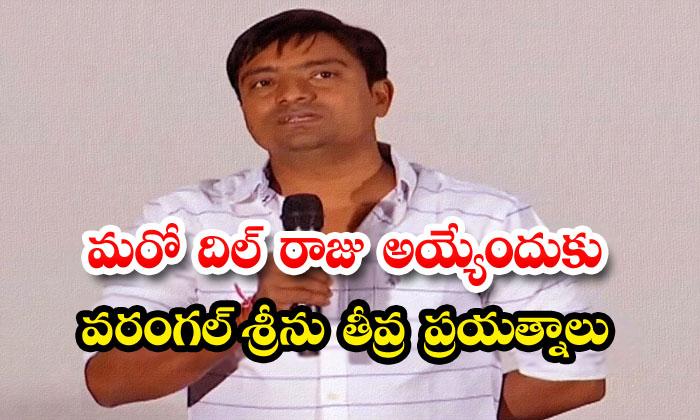 Warangal Srinu Want To Take Big Movies Over Dil Raju-TeluguStop.com