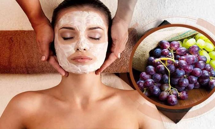 Wonderful Beauty Benefits Of Grapes-TeluguStop.com