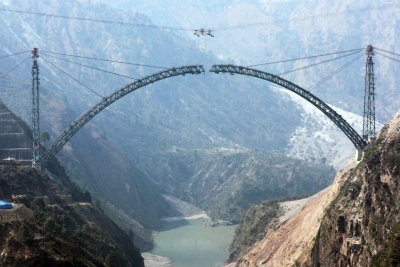 Work On India's First Cable-styled Bridge In Full Swing-TeluguStop.com