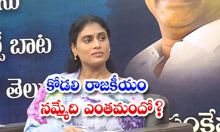 TeluguStop.com - Ys Sharmila Faced So Many Problems In Telangana