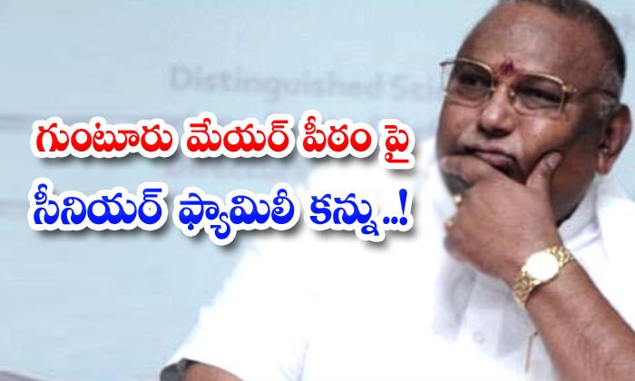 TeluguStop.com - Tdp Senior Family On Guntur Mayors Pedestal