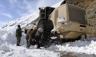 14 Dead In Afghanistan Avalanche-TeluguStop.com