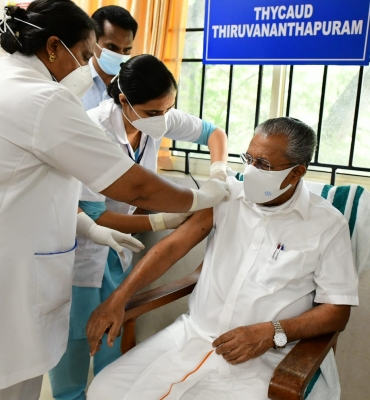 2.1 Million Covid Vaccines To Arrive In Kerala: Pinarayi Vijayan-TeluguStop.com