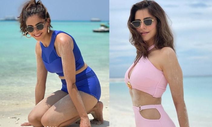 Bollywood Serial Actress Aamna Sharif Increasing Glamour Dose For Movie Offers-బికినీలో రెచ్చిపోతున్న సీరియల్ హీరోయిన్ ….-Latest News - Telugu-Telugu Tollywood Photo Image-TeluguStop.com