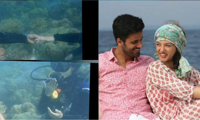Bhavya Proposed To Mehreen In Underwater-TeluguStop.com