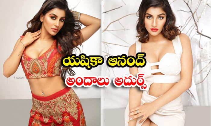 Bollywood model and actress yashika aannand hot photoshoot-యషికా ఆనంద్ అందాలు అదుర్స్