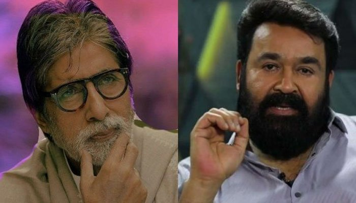 Amitabh Bachchan Wishes Mohanlal For His Directorial Debut-TeluguStop.com